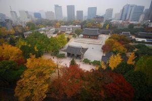 Le Palais de Deoksugung, à Séoul en Corée du Sud